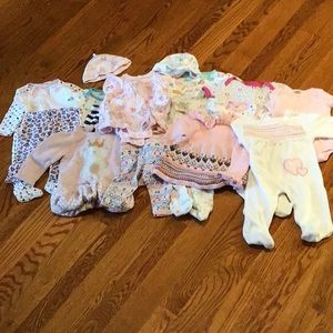 3-6 months adorable baby clothes